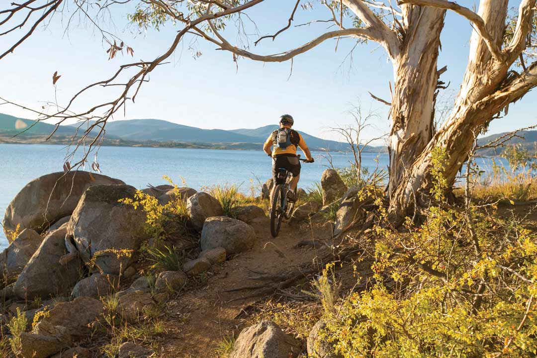 Riding Mt Kosiuscko, New South Wales